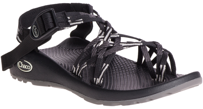Chaco Women's ZX/3 Classic scatter black & white