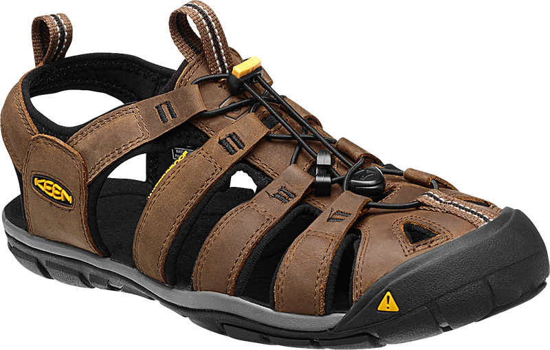 Keen Men's Clearwater CNX dark earth/black leather
