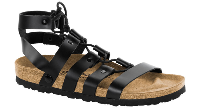 Papillio Cleo black leather by Birkenstock