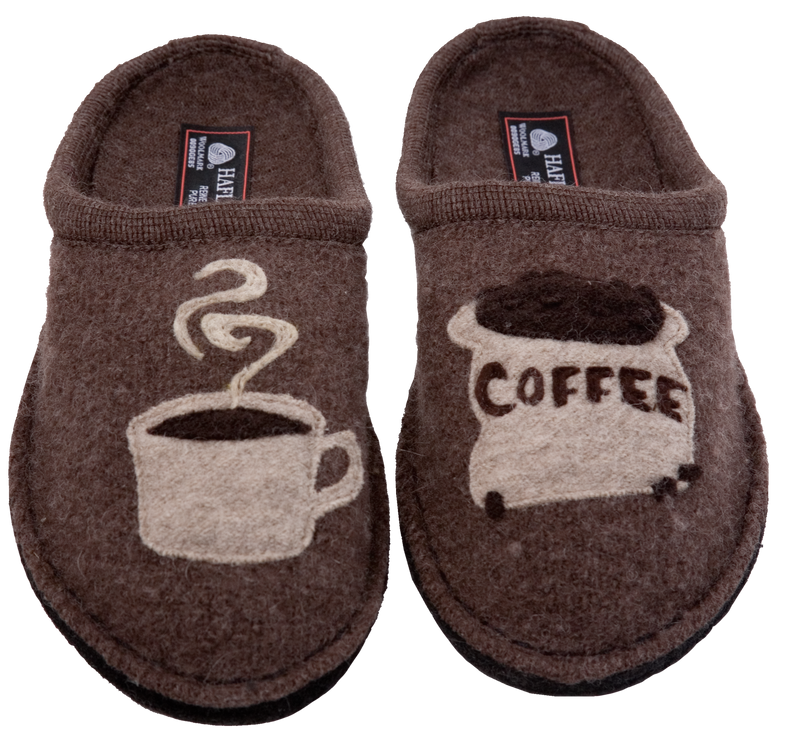 Haflinger Coffee Slipper earth