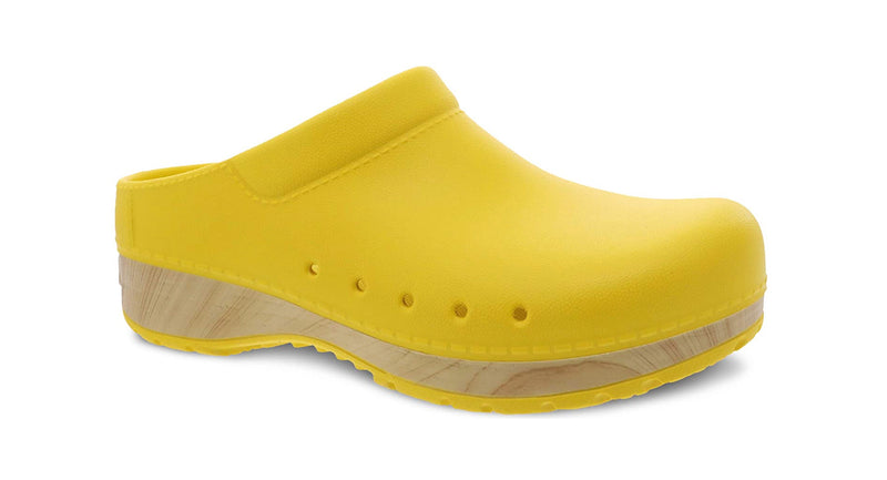 Dansko Kane yellow molded