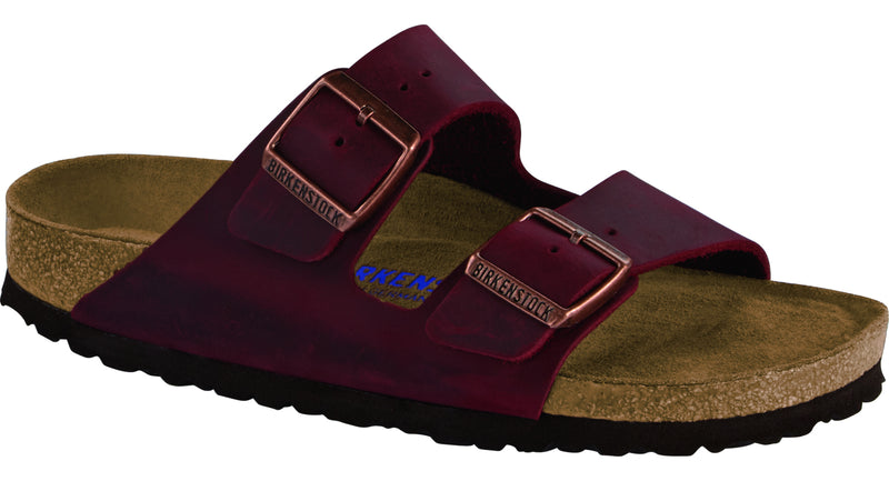 Birkenstock Arizona Soft Ftbd zinfandel oiled leather