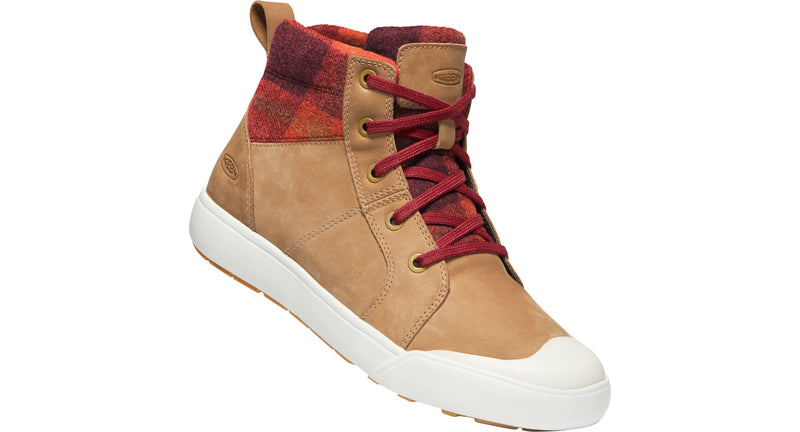 Keen Women's Elena Mid thrush/plaid