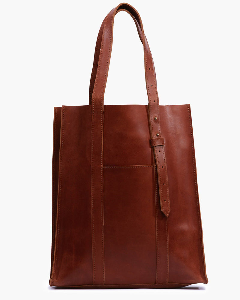 ABLE Elsabet Adjustable Tote leather