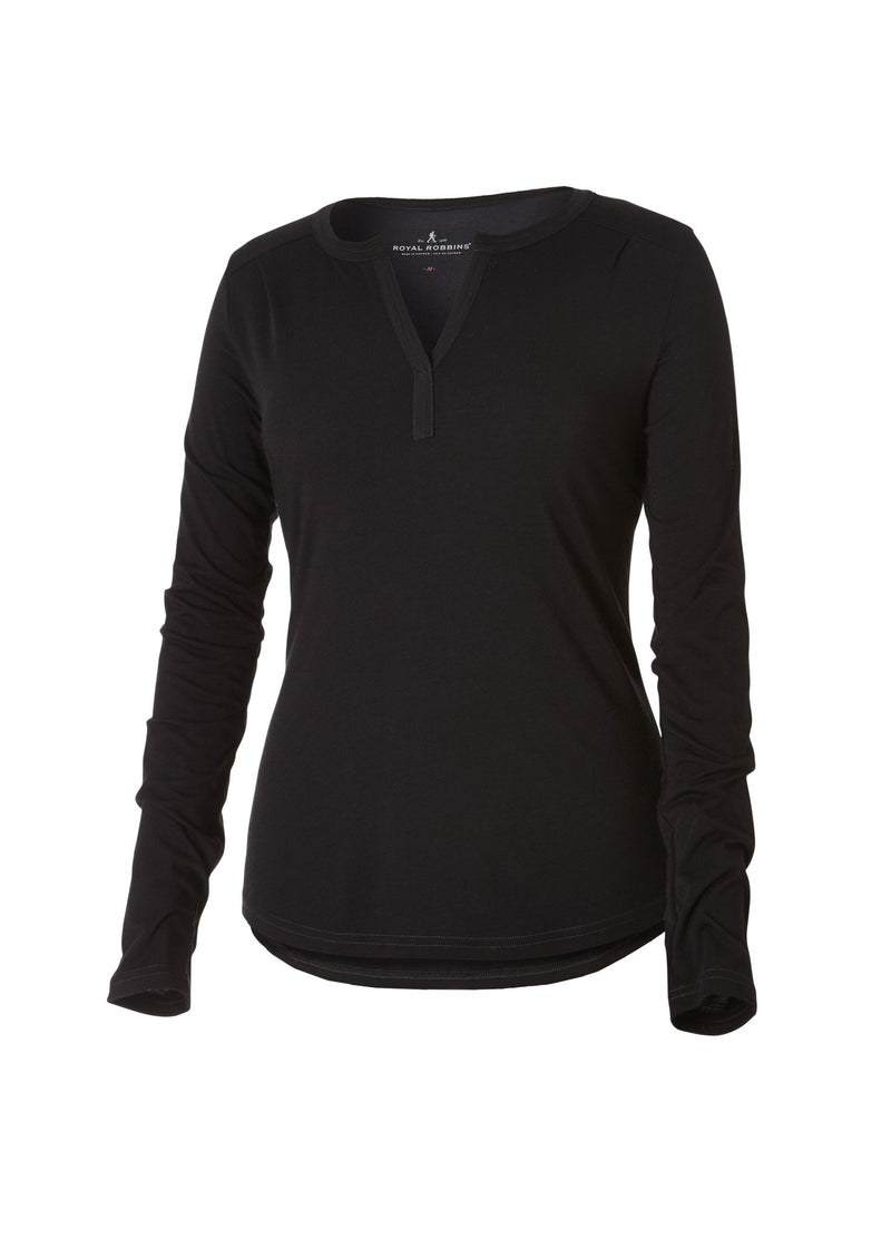 Royal Robbins Women's Go Everywhere Merino Henley