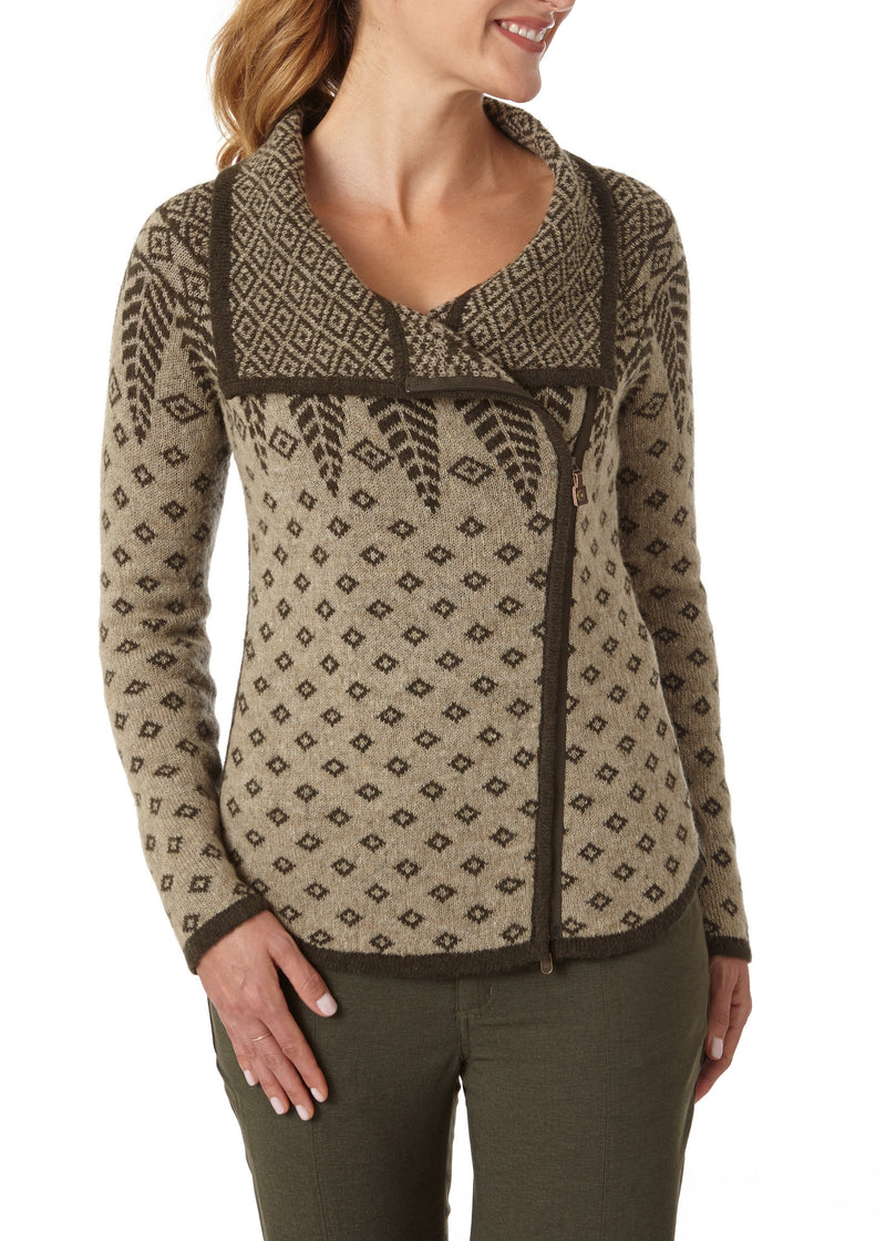 Royal Robbins Women's Autumn Pine Zip Cardigan