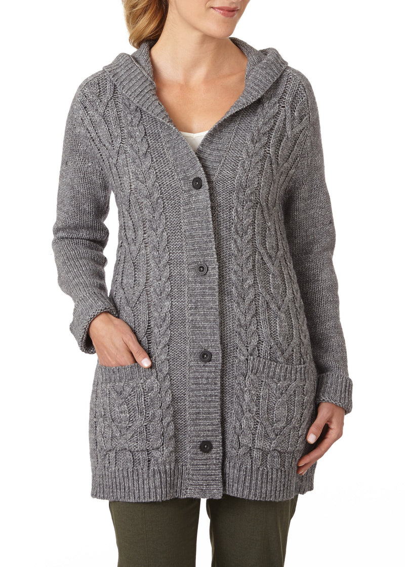 Royal Robbins Women's Ahwahnee Hooded Cardigan