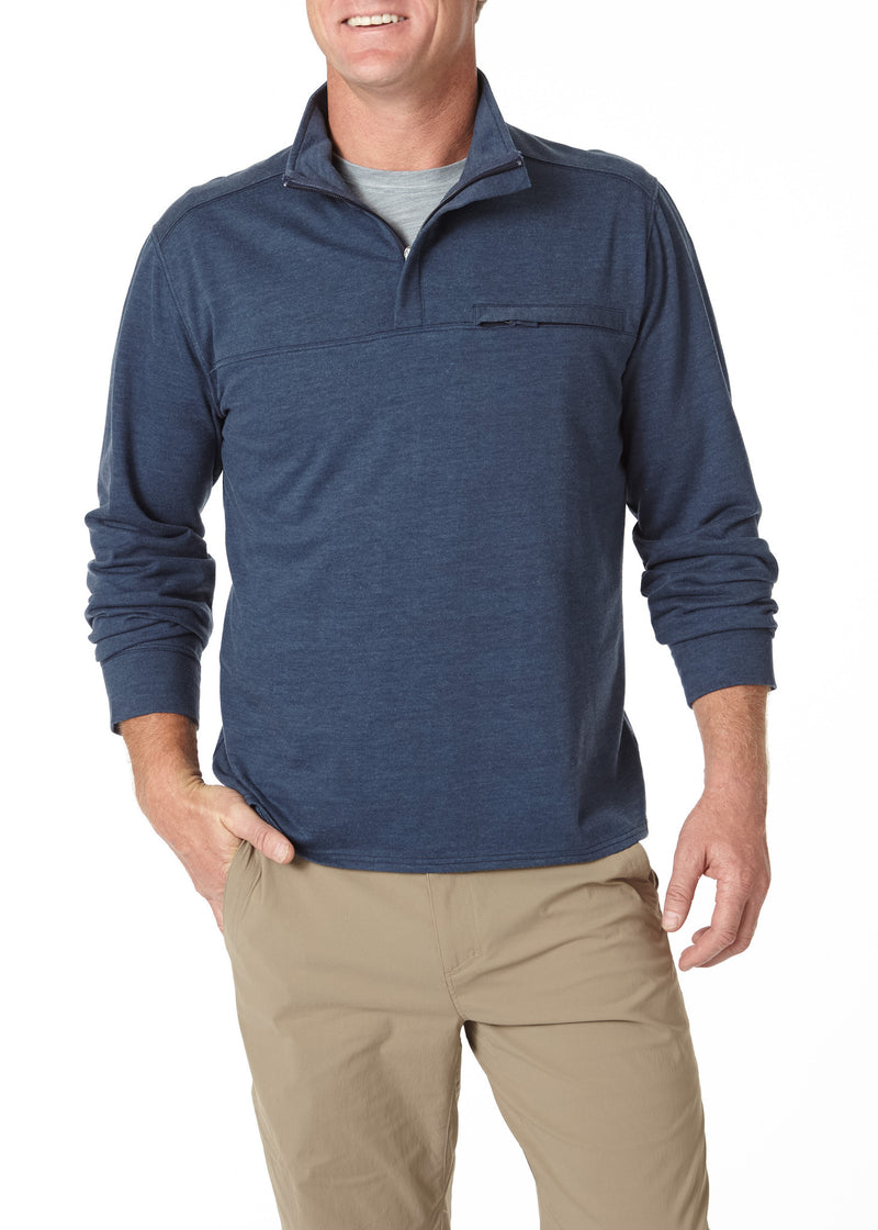 Royal Robbins Men's Terry 1/4 Zip