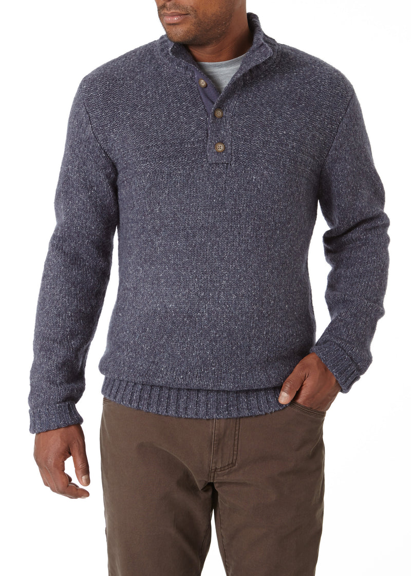 Royal Robbins Men's Sequoia Button Mock