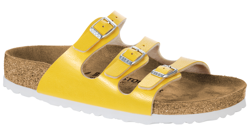 41de747ae58e Birkenstock Florida amber yellow Birko-flor – Footprints Lawrence
