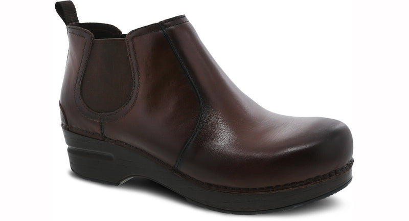 Dansko Frankie Burnished Full Grain brown