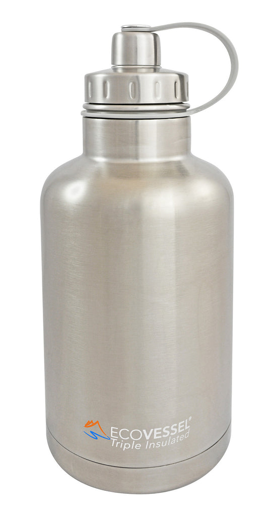 EcoVessel Boss Triple Insulated Growler w/ Screw Cap - 64 oz.