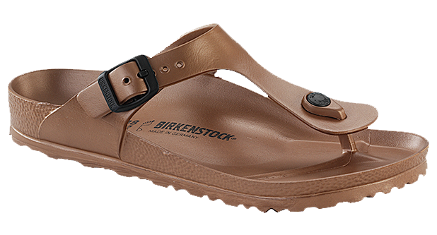 Birkenstock Gizeh EVA metallic copper