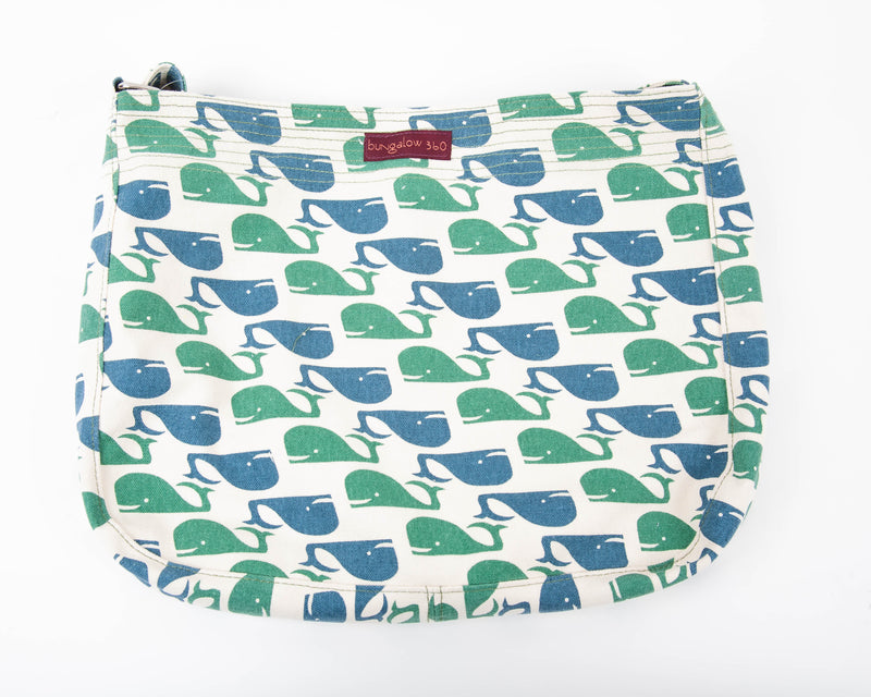 Bungalow 360 Messenger Bag Whale