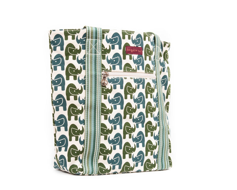 Bungalow 360 Striped Tote Rhino