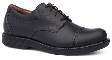 Dansko Men's Justin black oiled nubuck