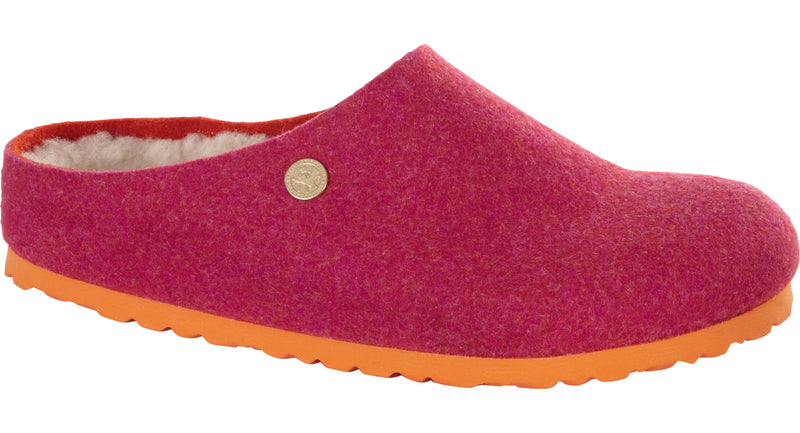 Kaprun Women's Happy Lamb fuchsia wool