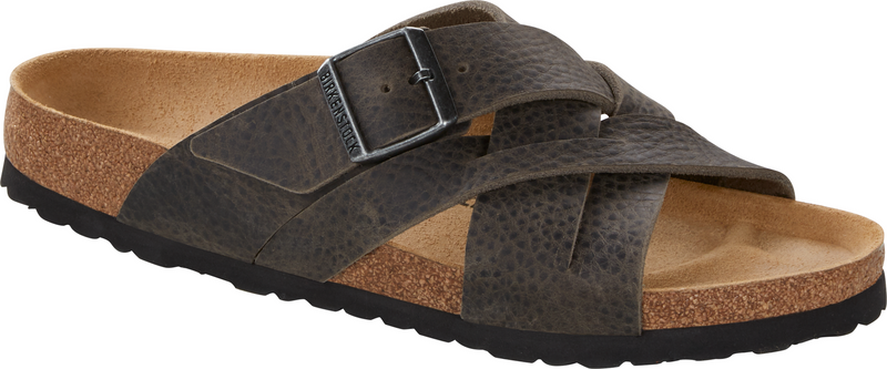 Birkenstock Lugano camberra iron oiled leather