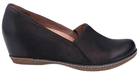 Dansko Liliana Burnished Nubuck black