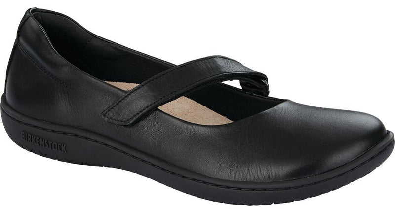 Birkenstock Lora black leather