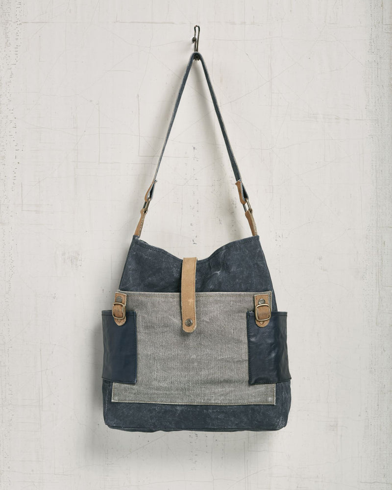 Mona B Chambray Canvas Tote