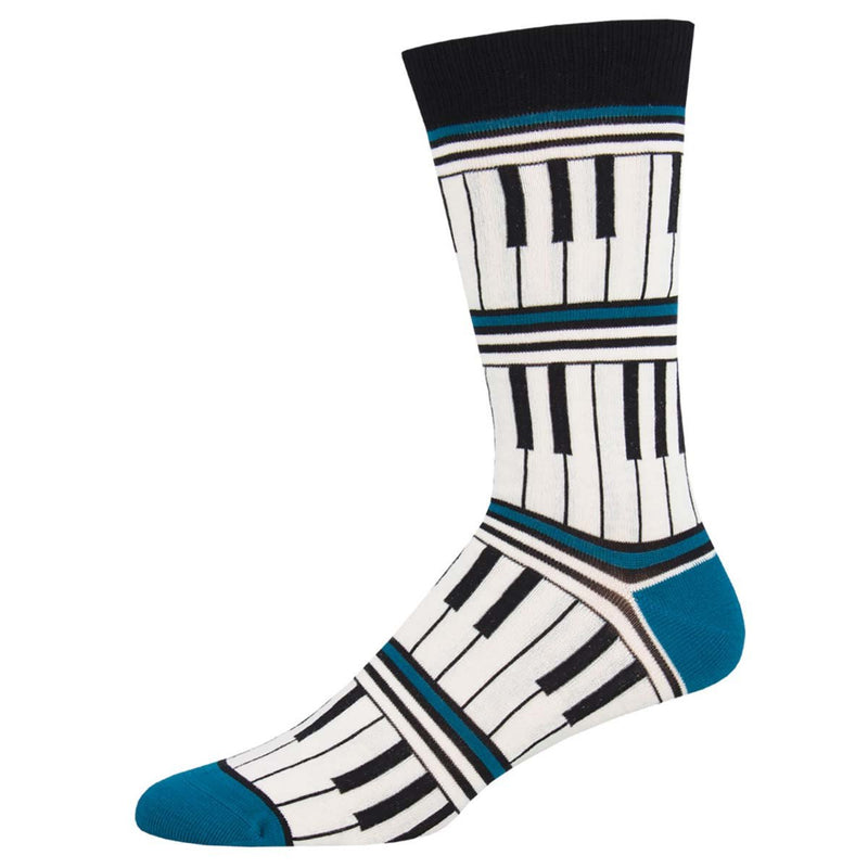 Socksmith - Piano Stripe (Bamboo)