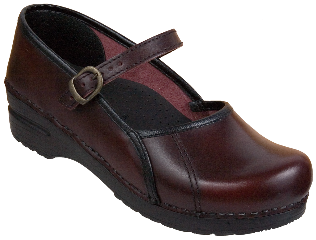 Sanita Marcelle bordeaux cabrio leather