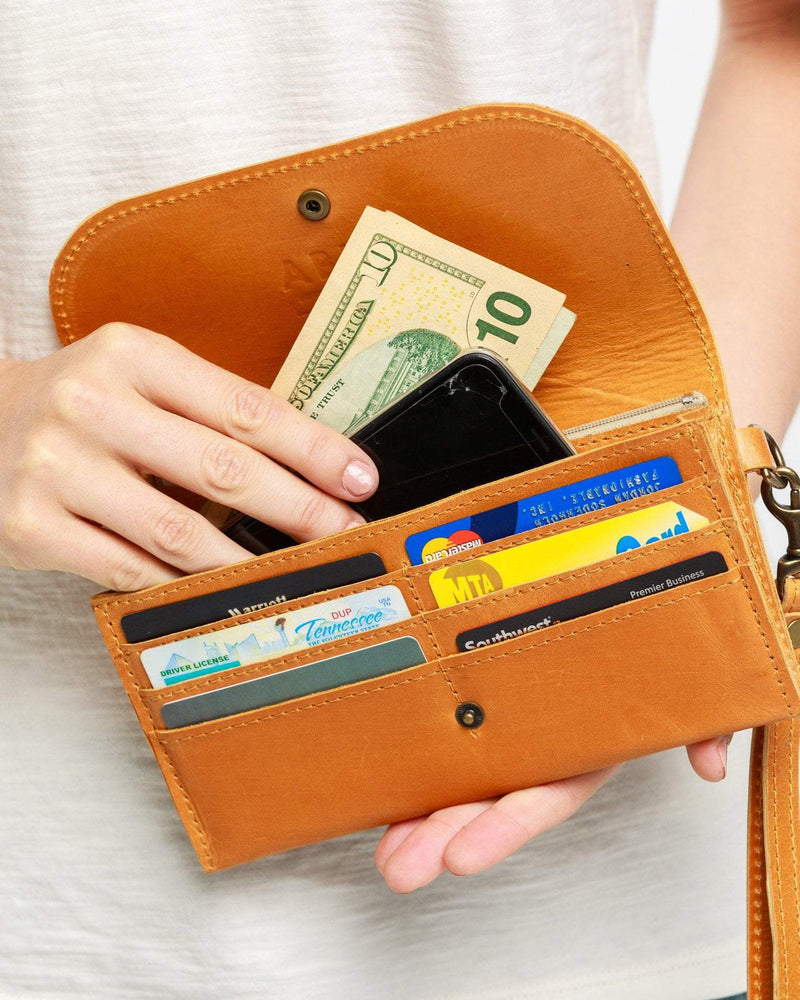 ABLE Mare Phone Wallet leather