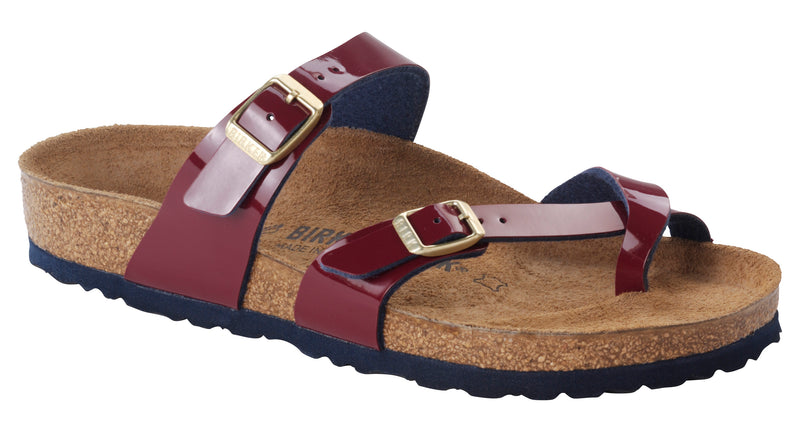 Birkenstock Mayari wine/night Birko-Flor