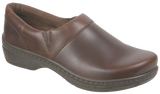 Klogs Mission mahogany smooth leather