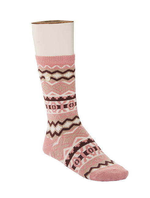 Birkenstock Cotton Jacquard Sock misty rose