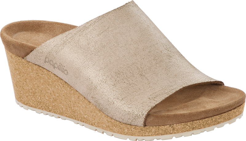 Papillio Namica washed metallic rose gold by Birkenstock