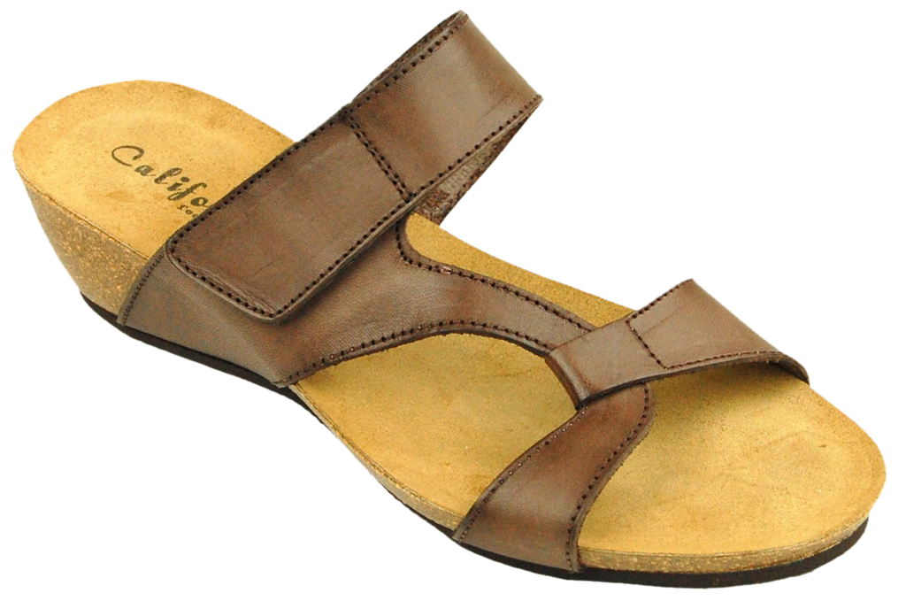 California Noe brown leather