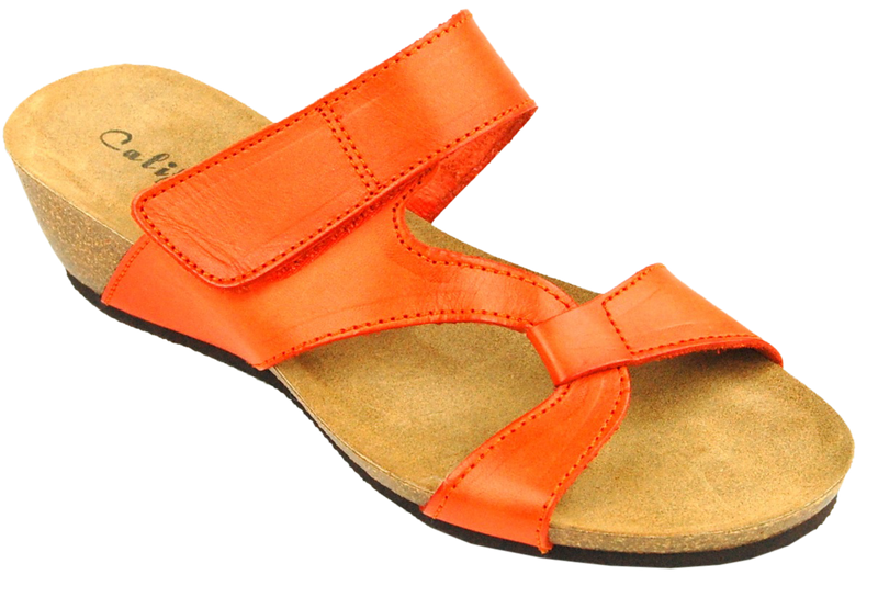 California Noe orange leather