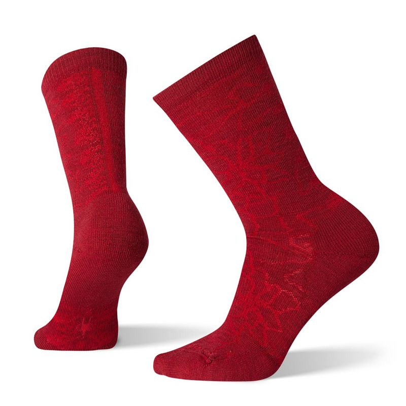 Smartwool Women's Poinsettia Graphic Crew