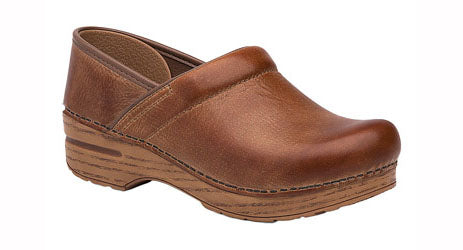 Dansko Professional Distressed Leather honey