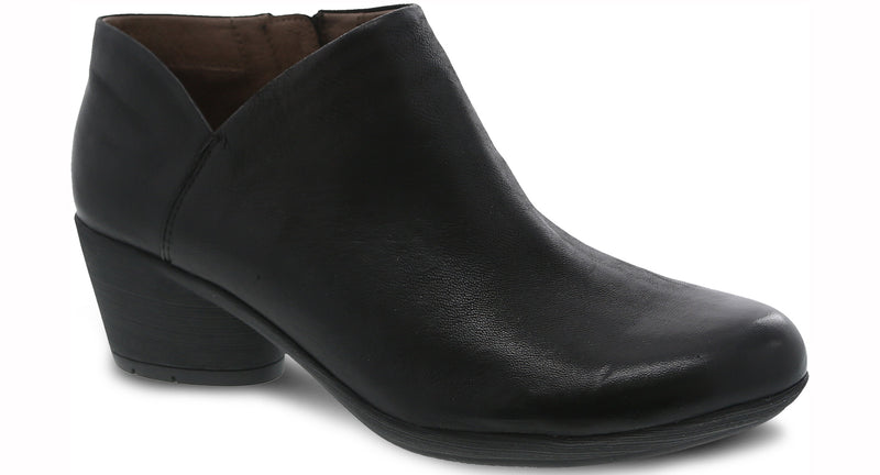 Dansko Raina Burnished Nubuck black