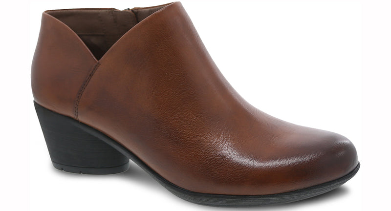 Dansko Raina Burnished Calf chestnut