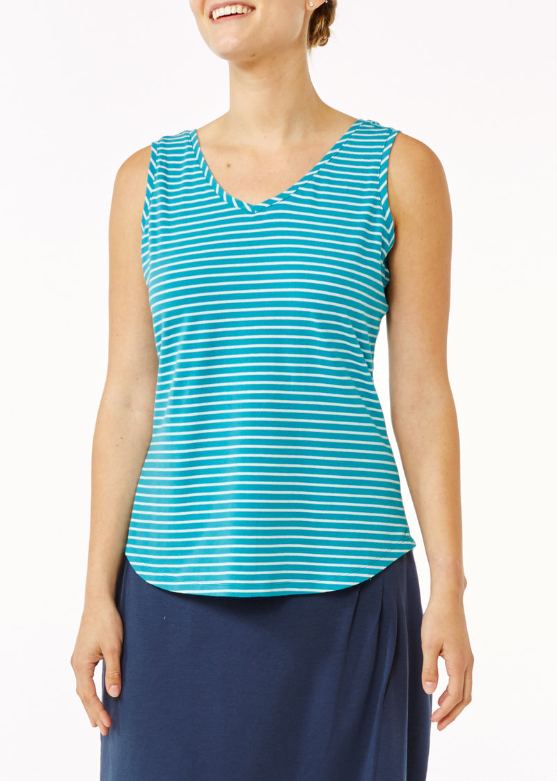 Royal Robbins Women's Active Essential Stripe Tank