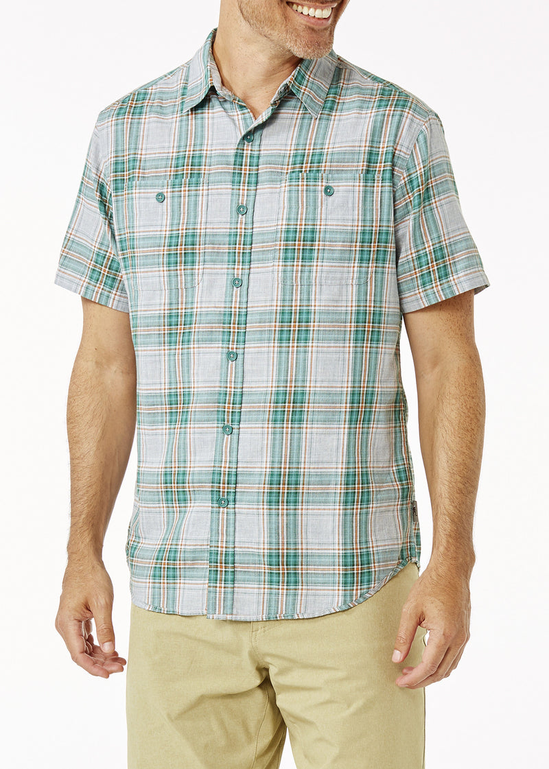 Royal Robbins Men's Point Reyes Plaid Short Sleeve