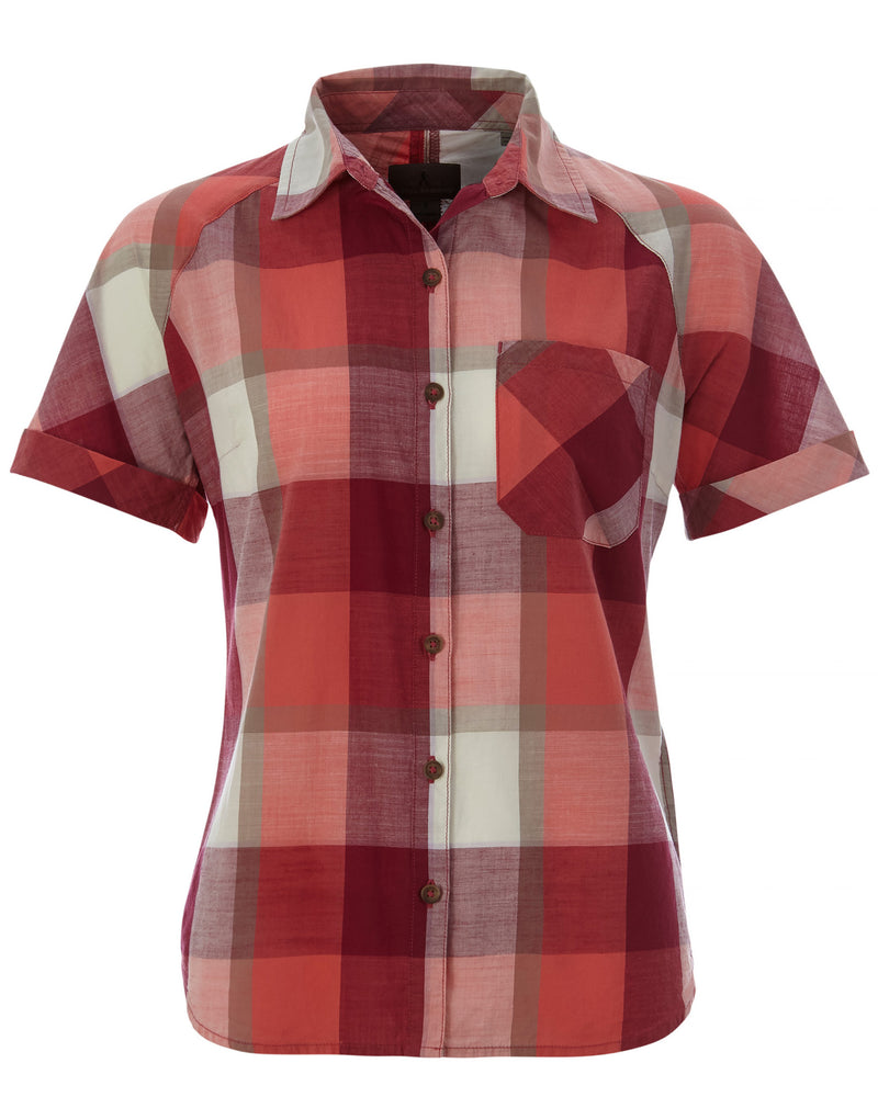 Royal Robbins Women's Dixie Plaid Shortsleeve