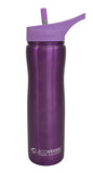 EcoVessel Summit Insulated Steel Straw Bottle - 24 oz.