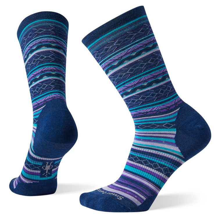Smartwool Women's Ethno Graphic Crew alpine blue