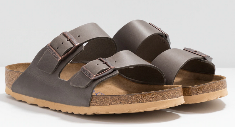 Birkenstock Arizona Soft Ftbd antique anthracite leather