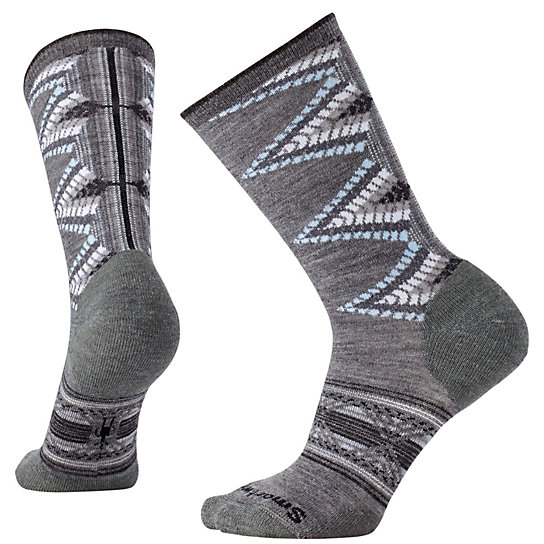 SmartWool Women's Tiva Crew med gray heather