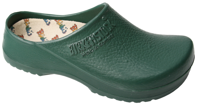 Birki Super Birki Clog green licensed by Birkenstock