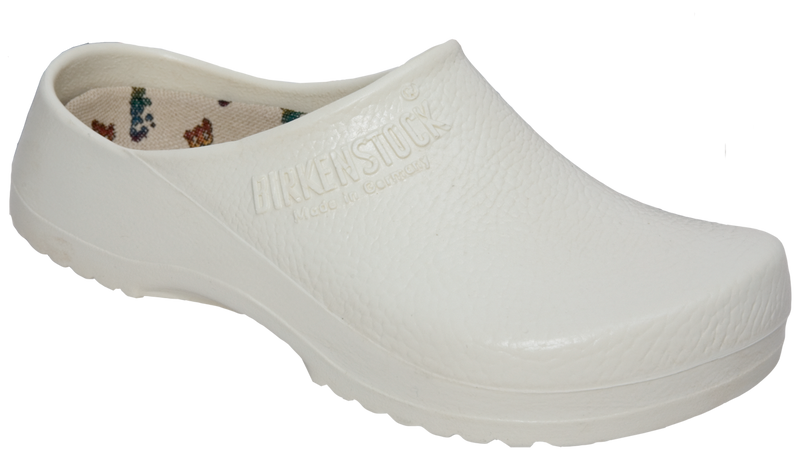 Birki Super Birki Clog white licensed by Birkenstock