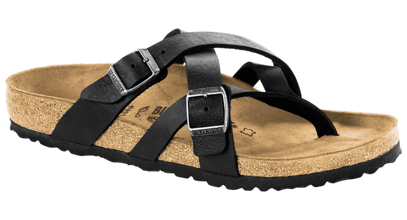 Birkenstock Temara camberra black oiled leather