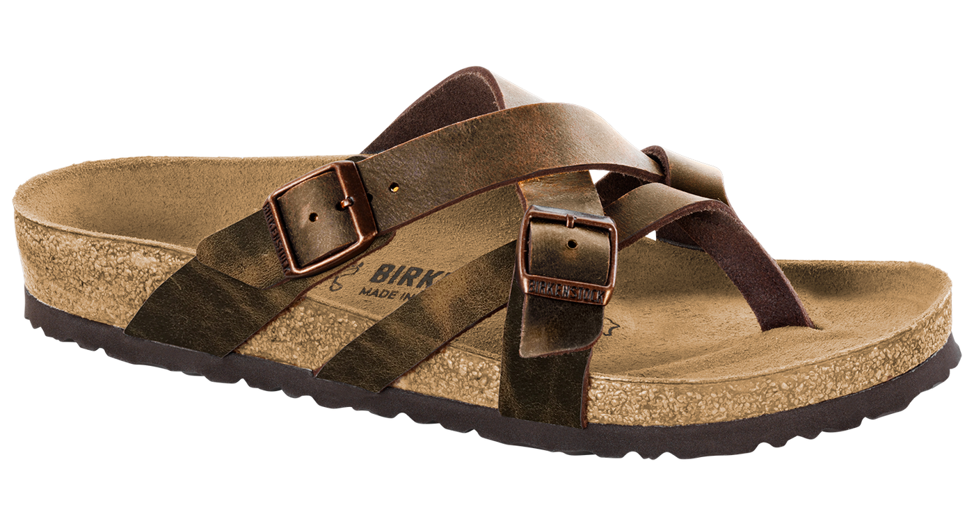 5e54c85f290 Birkenstock Temara camberra tobacco oiled leather