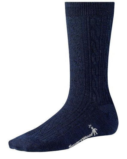 Smartwool Women's Cable deep navy heather